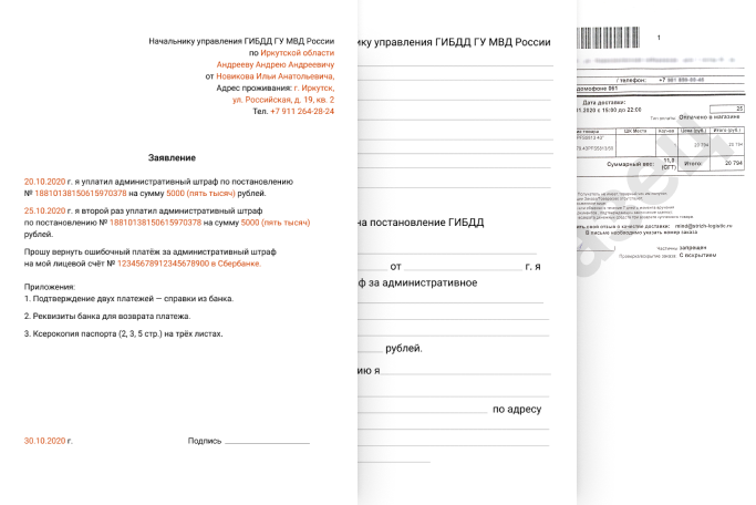 Пример жалобы Накатал.ру